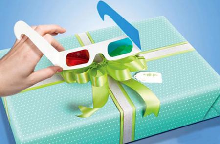 Lazy Bows, papel de regalo con los lazos en 3D