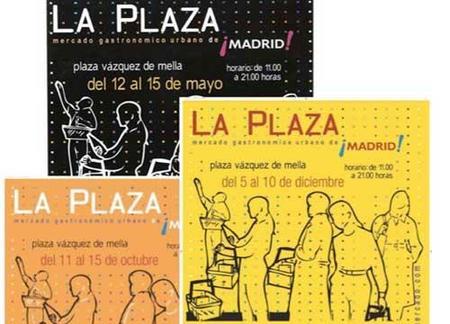 Mercado gastronómico urbano de Madrid