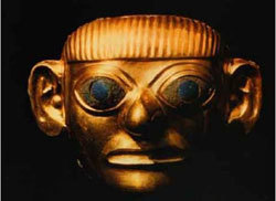 Máscara del Señor de Sipan