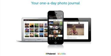 En la red social Polaroid Blipfoto te quedarás sólo con la foto esencial de cada día