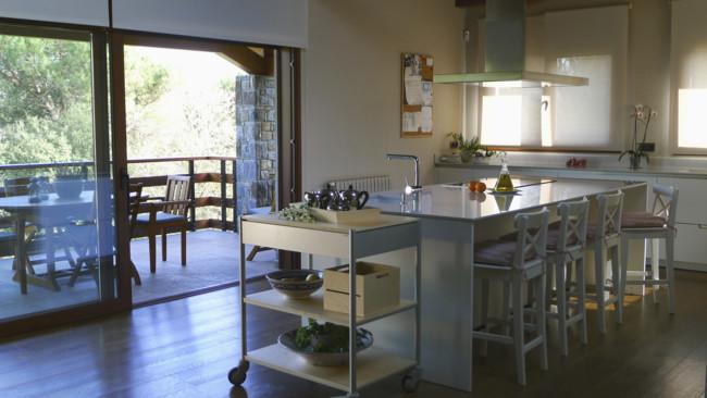 Cocinas Blancas En Isla Diseno Santos Kits Interiorisme 02