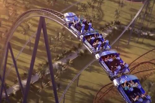 Six Flags ya prepara la que sería la montaña rusa más alta, más rápida y más larga del mundo cuando se estrene en 2023