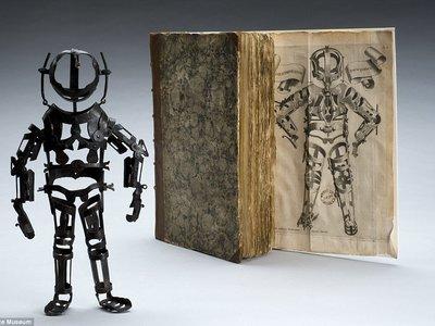 Los robots no son tan modernos: cinco siglos del robot en el Museo de la Ciencia de Londres