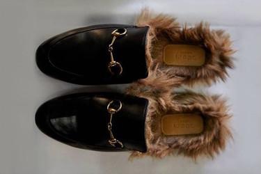 ¡Atención por favor! Los zapatos peludos de Gucci se están convirtiendo en un auténtico boom en las redes sociales