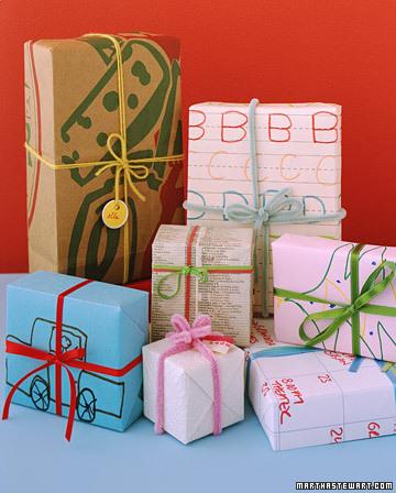 Ideas de última hora para envolver los regalos