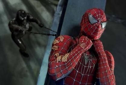 Nueva imagen de Venom contra Spider-Man en 'Spider-Man 3'