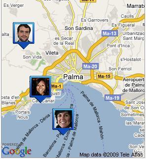 Geolocalización con Google Latitude