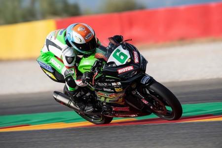 Jeffrey Buis repite victoria en MotorLand para quitarle a Ana Carrasco el liderato de Supersport 300