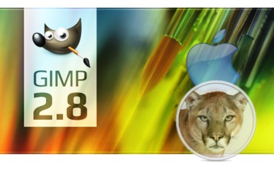 Primera versión de GIMP nativa para Mac OS X