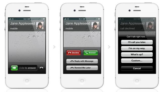 Telefono en iOS 6