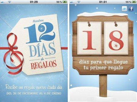 Apple publica la aplicación oficial de la campaña 12 Días de Regalos