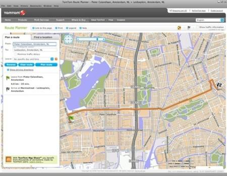 TomTom Route Planer, crea rutas para tus viajes