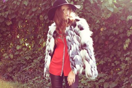 Ganas de frío para lucir un fluffy coat