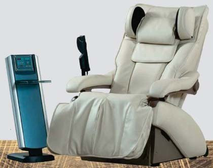 Inada W1: sillón de relax sincronizado con música