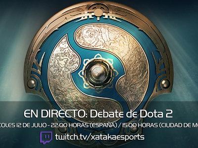 A debate la escena competitiva y los premios de Dota 2 en directo a las 22:00 horas (las 15:00 en Ciudad de México) [Finalizado]