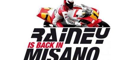 Wayne Rainey vuelve a Misano 18 años después