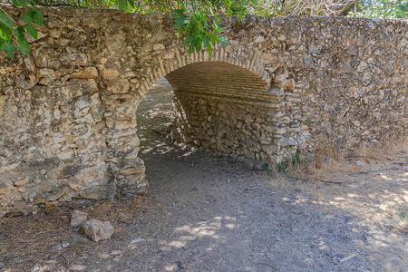 1024px Petit Pont Little Bridge Riofrio Spain