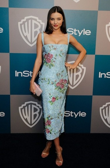 Si no está en la HBO, está en la fiesta Warner Bros/InStyle. ¡Las celebrities no paran!