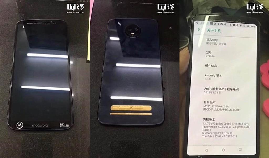 Motorola Moto™ Z3 Play
