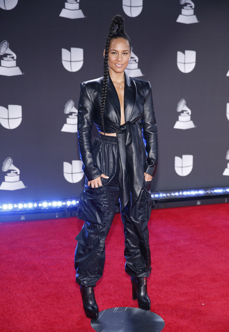 Alicia Keys grammys latinos 2019 red carpet