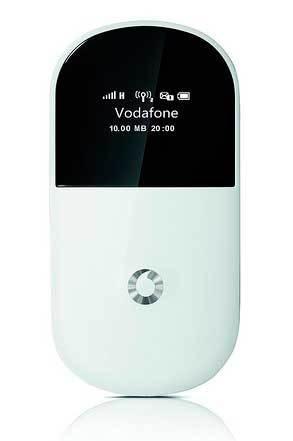 Vodafone lanza el MiFi R205 compatible con redes HSPA+ con hasta 21.6 Mbps de velocidad de bajada