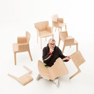 Adela Rex es la primera colaboración de Andreu World con el diseñador francés Philippe Starck