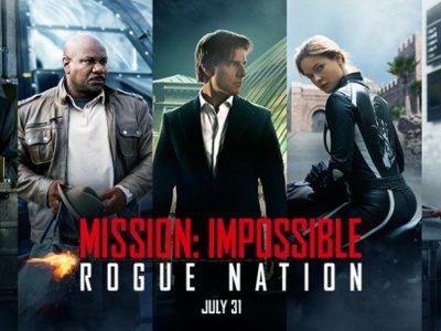 'Misión: Imposible - Nación Secreta', la película