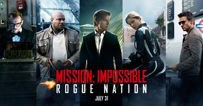 Los héroes de Mision: Imposible 5 - Nación Secreta