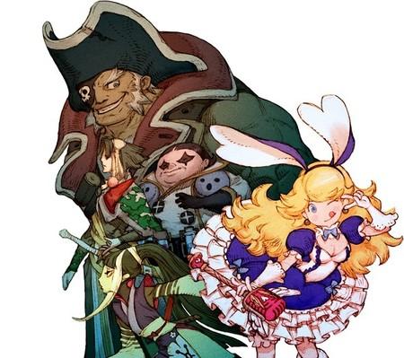 Muchos personajes carismáticos y un increíble arte conceptual en Bravely Default