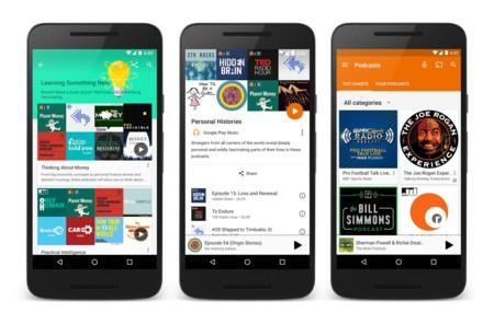 Google Play Music estrena por fin los podcasts