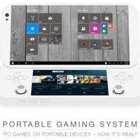 Con esta consola portátil será posible disfrutar juegos de PC en cualquier lugar