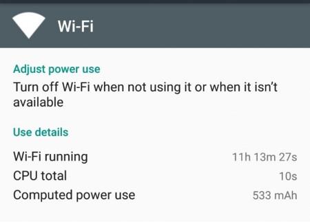 Android Marshmallow muestra en mAh la batería consumida por cada app