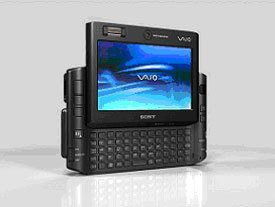 VAIO VGN-UX1XN, los UMPC también con Vista