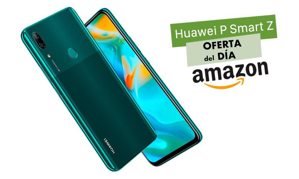 Hasta la medianoche, tienes en Amazon el Huawei P Smart Z a su precio más bajo hasta la fecha: sólo 134,90 euros y en tres colores para elegir