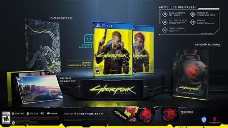 Versión física de Cyberpunk 2077 con descuento