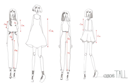 ASOS Tall, diseños espectaculares para mujeres altas