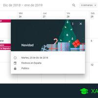 Cómo añadir los días festivos a Google Calendar