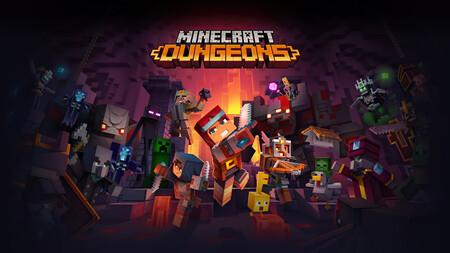 Minecraft Dungeons se podrá jugar gratis durante una semana en Nintendo Switch con Nintendo Switch Online
