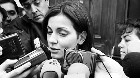 Nevenka Entrada Juicio Con Periodistas Archivo