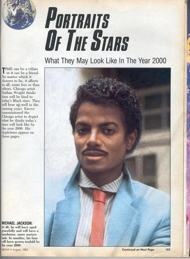 Asi se imaginaban en los 80s a Michael Jackson en el siglo XXI
