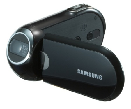 Samsung C10, la videocámara ergonómica, por 200 euros