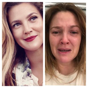 Drew Barrymore nos da una lección de aceptación y fuerza de voluntad con su hastag #TheWayItLooksToUs de Instagram