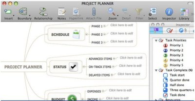Mind Manager, aplicación para crear mapas mentales