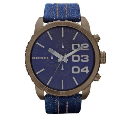Denim también en tu muñeca con los nuevos relojes Diesel