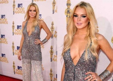 Lindsay Lohan ¿Borracha yo? Hombre por dios...
