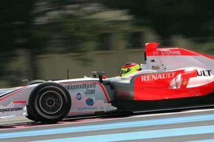 Luca Filippi, el más rápido en el Paul Ricard