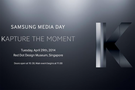Samsung Galaxy K, un nuevo Zoom como motivo del evento del 29 de abril