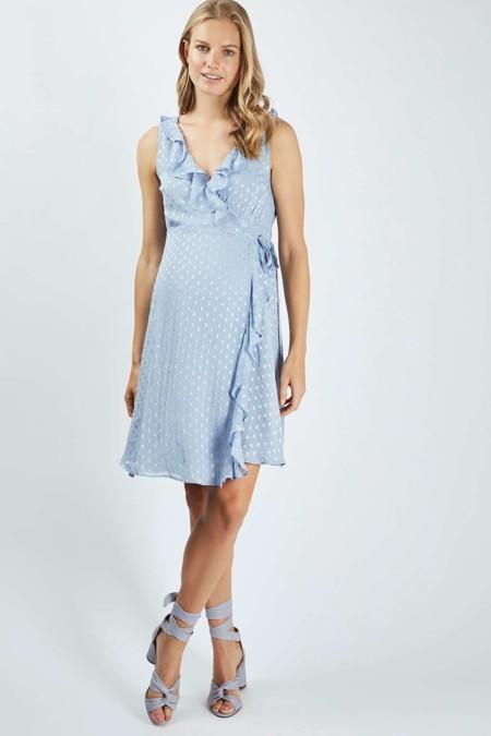 Vestido Premama Topshop Azul Cielo