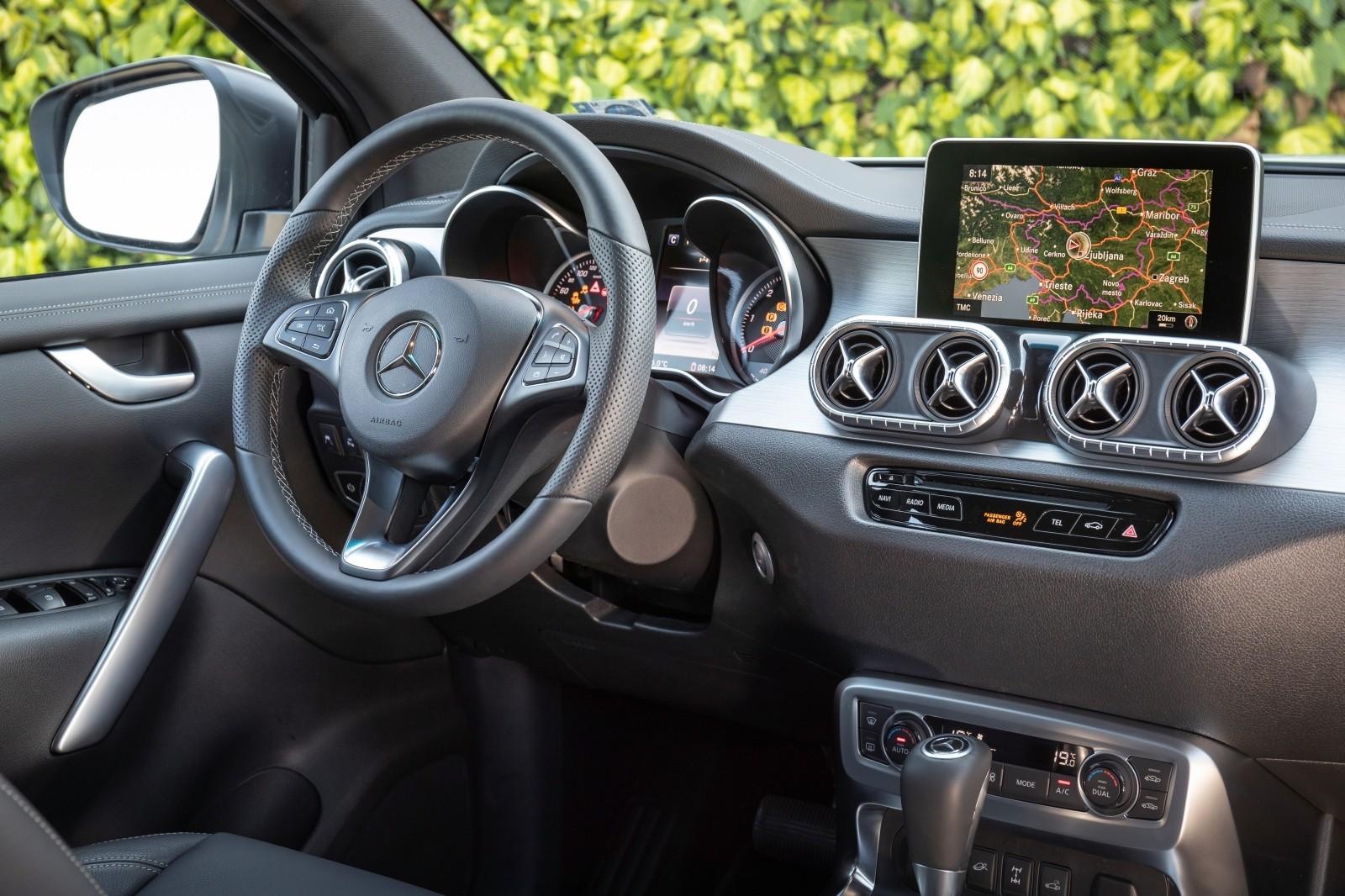 Foto de Mercedes-Benz Clase X 350d 2019 prueba contacto (31/78)