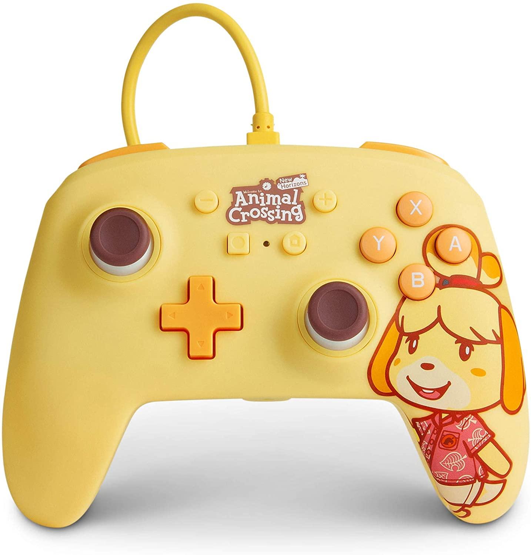 Control alámbrico PowerA para Nintendo Switch de Animal Crossing